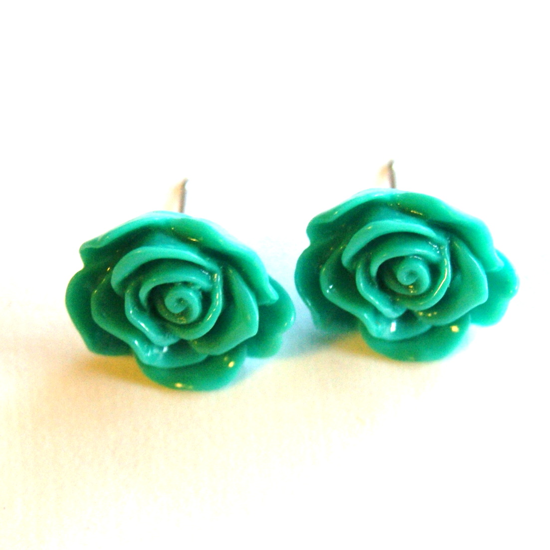 wekoko ethnic turquoise earrings flaura real stud rose